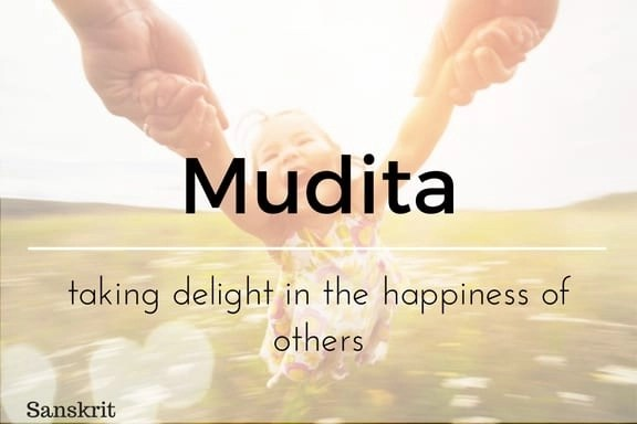 Mudita 13 words not in the English language