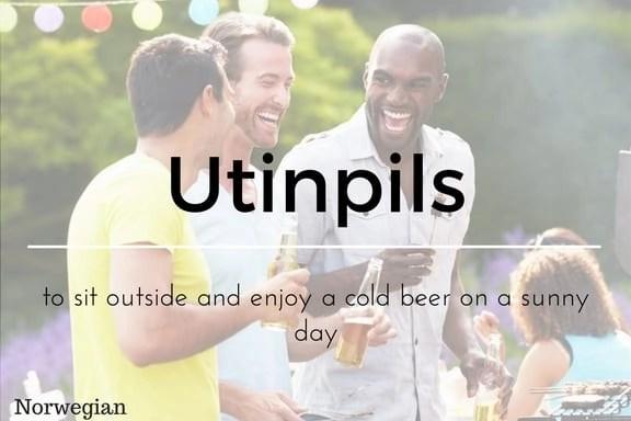 Utinpils 13 words not in the English Language