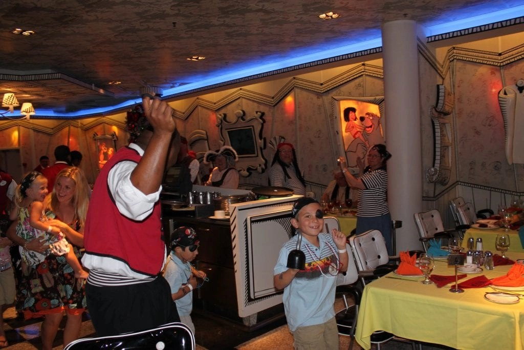 Great entertaining staff on board Disney Cruise Line | Global Munchkins