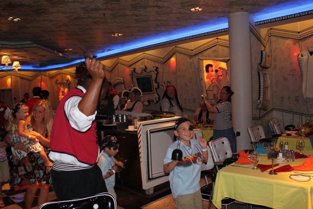 Great entertaining staff on board Disney Cruise Line | Global Munchkins