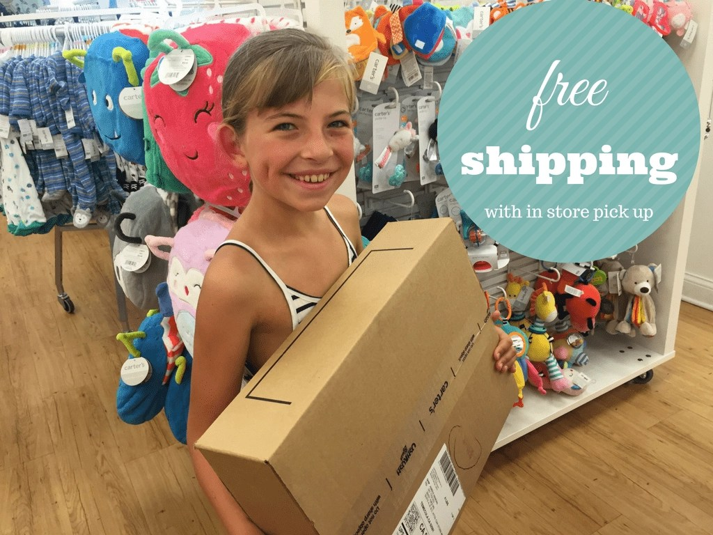 free shipping at OshKosh B'Gosh when you choose in store pick up. Great styles for Back to School