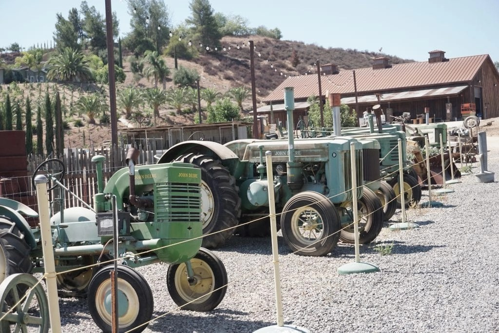 Tractor Collection at Peltzer Farm | Global Munchkins