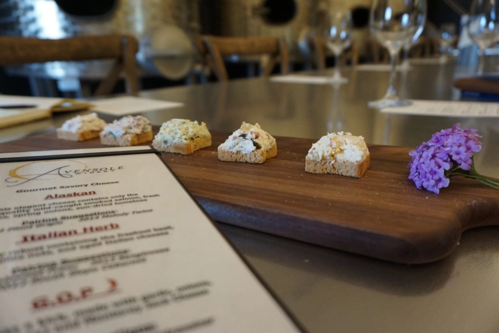 Cheese and Wine Pairing at Avensole Winery one of the newest Temecula Wineries | Global Munchkins