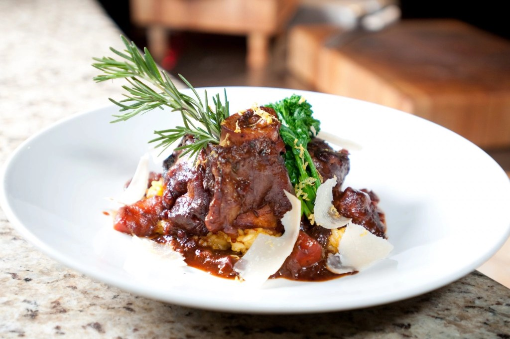 Osso Bucco from Paisano's at Pechanga a great idea for a date night in Temecula | Global Munchkins