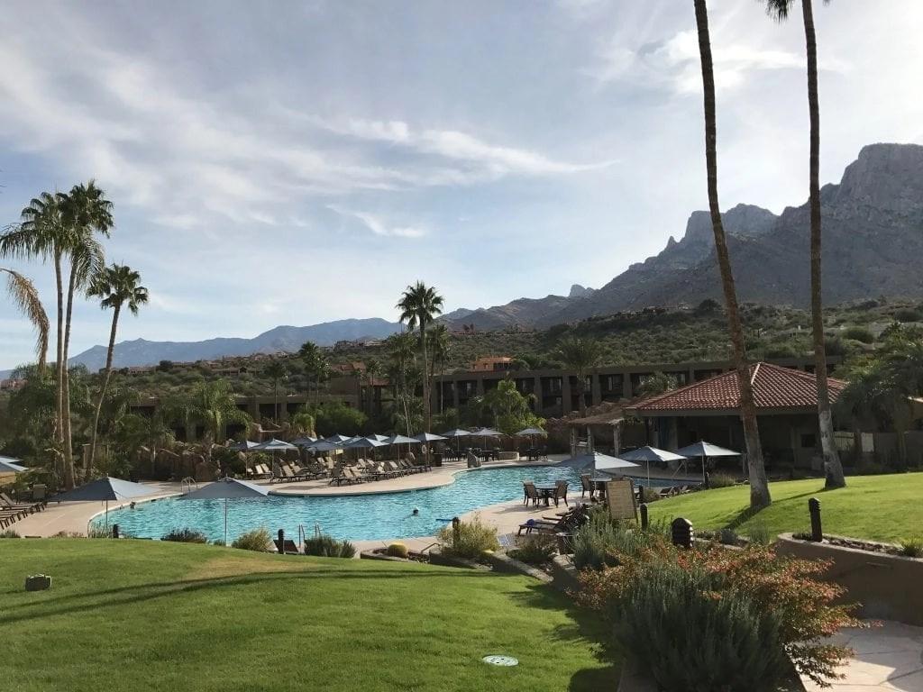 Great family pool at the Hilton El Conquistador in Tucson AZ