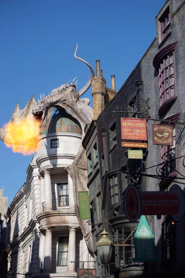 How to avoid crowds at Universal Orlando's Diagon Alley. Tips for visiting the Wizarding World of Harry Potter