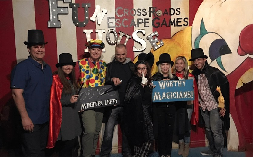 A super fun Anaheim attraction for couples is the Crossroads Escape Room.