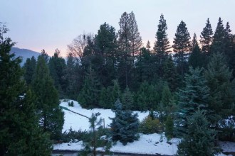 The gorgeous days end with even more stunning sunsets at Yosemite National Park
