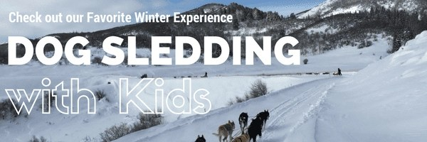 Dog Sledding with kids in Steamboat Springs CO