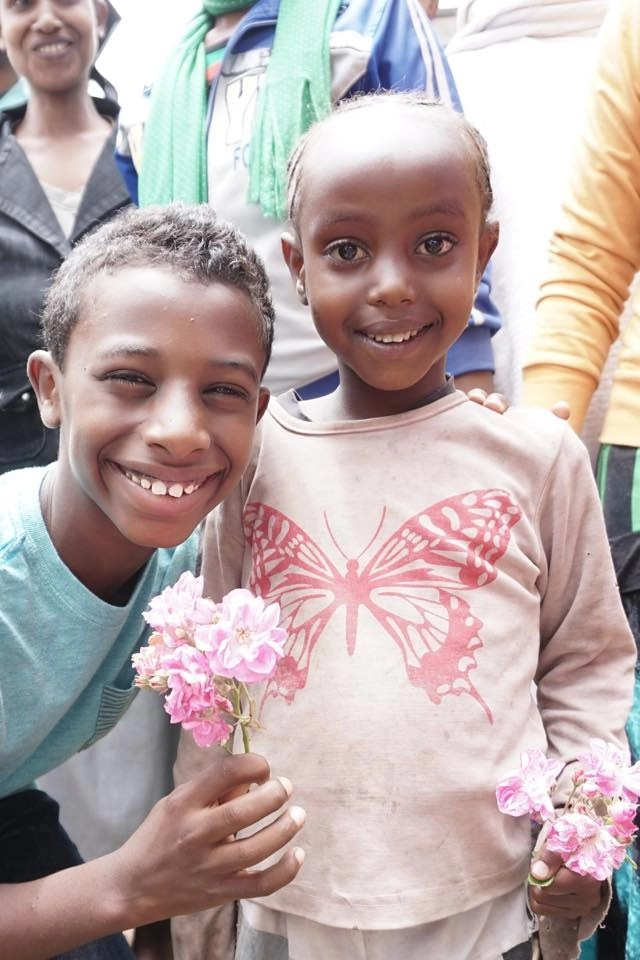 My son was able to reunite with his biological sister in Ethiopia