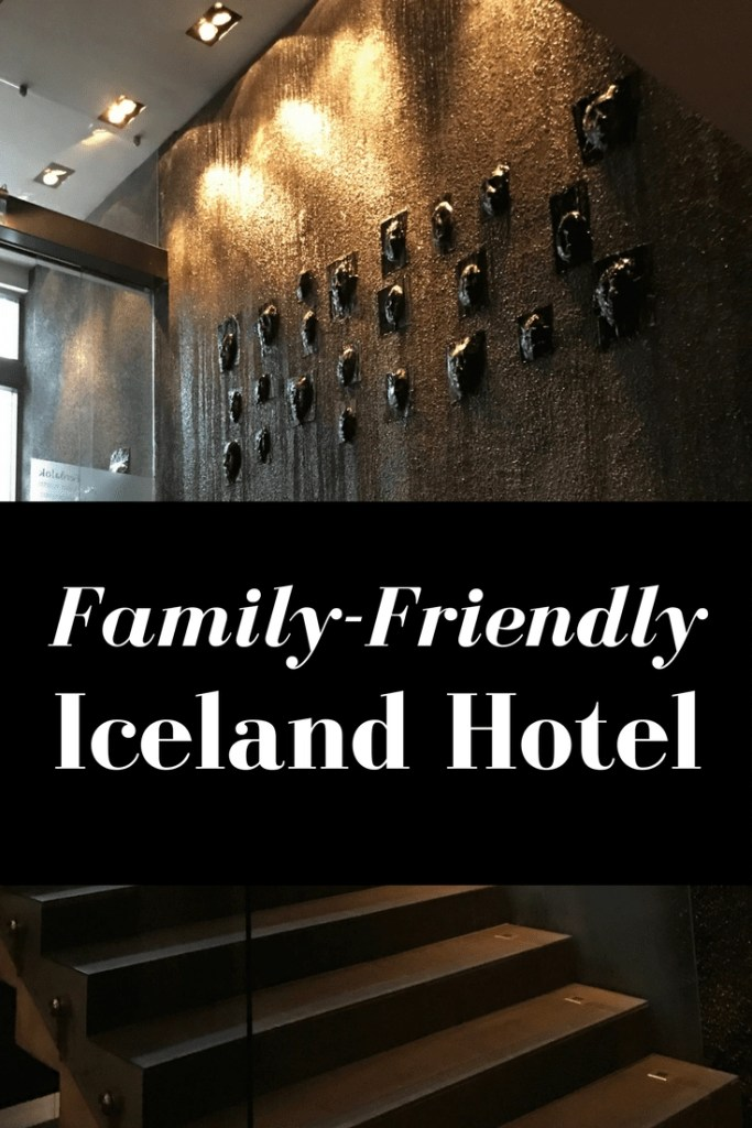 Family-friendly accommodations in Iceland at Centerhotel. A full review and photos.