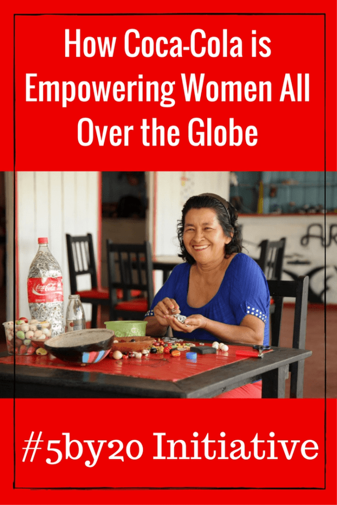 Coca-Cola is EMPOWERING women ALL over the world with their amazing #5by20 Initiative. Learn more about this amazing program and why it is so important to me by clicking through to the post.