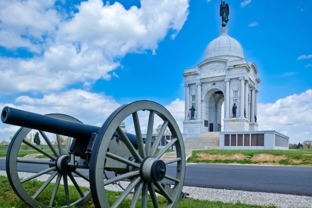 Top 5 reasons to visit Gettysburg with kids.