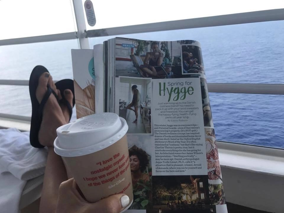 I found plenty of ways to hygge on my recent Disney Cruise. Check them out and find out ways to keep a smile on your face no matter what too.