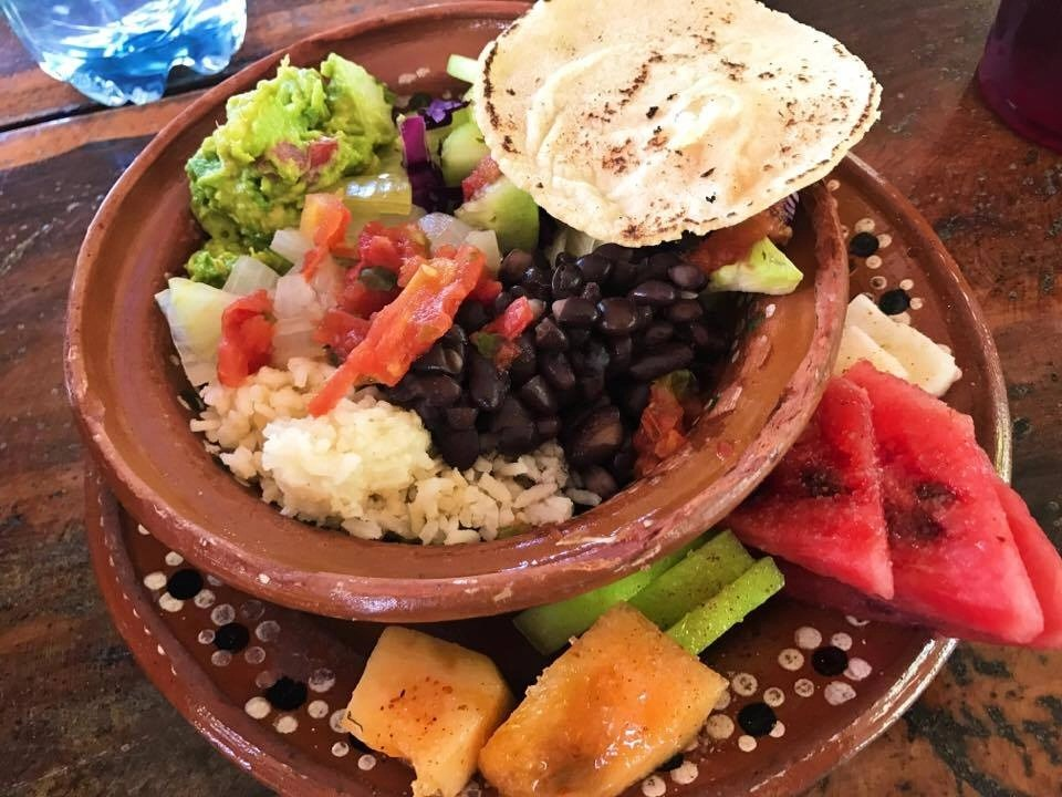 Check out this authentic Mayan meal prepared by one of 42 Mayan families that live on the property we toured with Adventure Tour Center in Tulum Mexico. Click the link for more details on my recent stay in Tulum. + all of my recommendations.