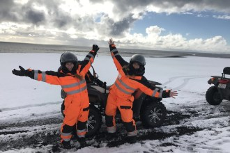No trip to Iceland is complete without touring the black sands of Vik and there is no better way to explore these incredible landscapes than on the back of an atv with Arcanum Glacier Tours.