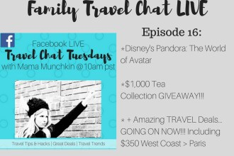 Everything you NEED to know about Disney's NEW Pandora: The World of Avatar + $1,000 GIVEAWAY to Tea Collection + Flights from LAX to Paris for $350 Round Trip and more