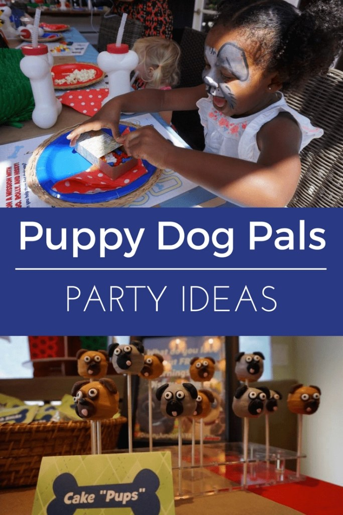 Check out these adorable Puppy Dog Pals Party Ideas to help you celebrate #DisneyJuniorFRiYAY with your little munchkins all summer long. #partyideas #toddlerbirthday #disneyjunior #puppydogpals #puppyparty