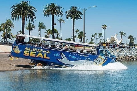 San Diego with Kids - Seal Amphibious TOur