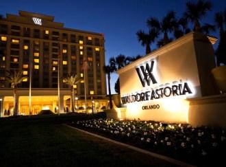 Waldorf Astoria Orlando. Luxury found off-property in Orlando. Photo Courtesy of Waldorf Astoria Orlando