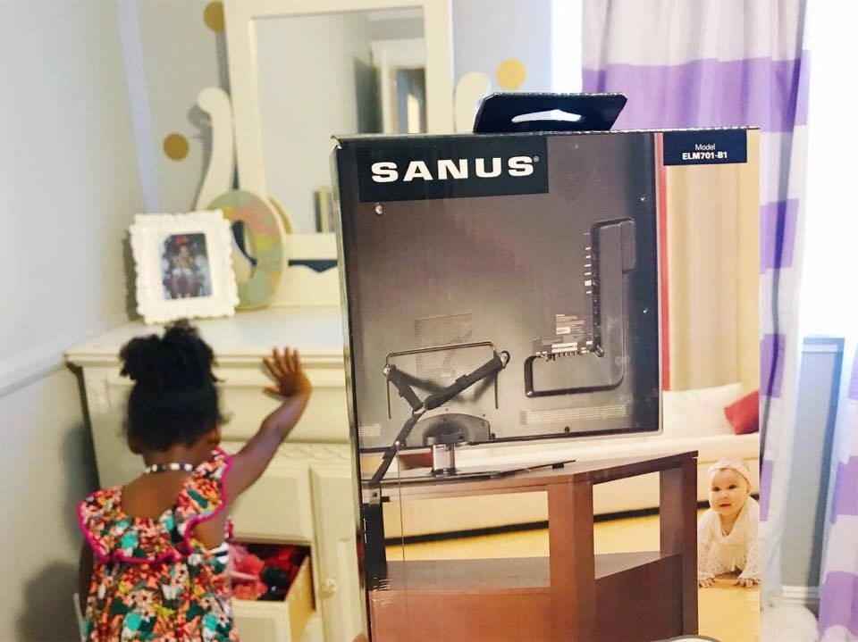 Anchoring furniture and TV's in your home is an easy and affordable way to prevent Tip-Over accidents from occurring in your home. The SANUS Anti-Tip TV or Furniture Strap helps protect your child from furniture and TV's falling on them.