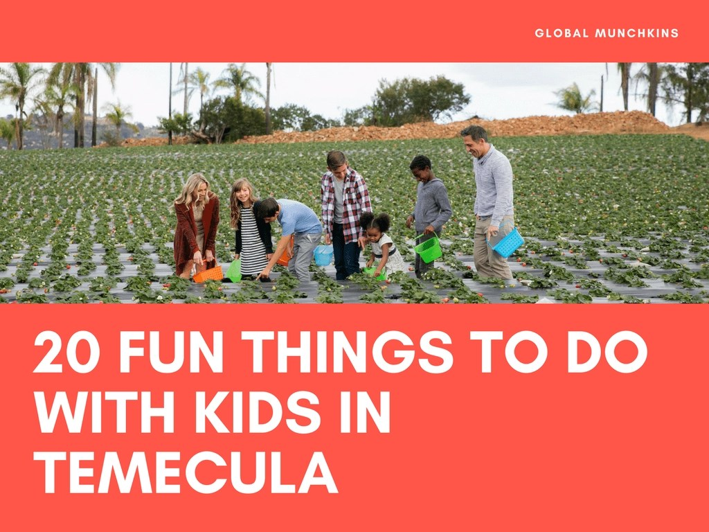 20 Kid Friendly Things To Do In Temecula Global Munchkins