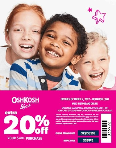 Cute kids styles for back to school from OshKosh [ad}