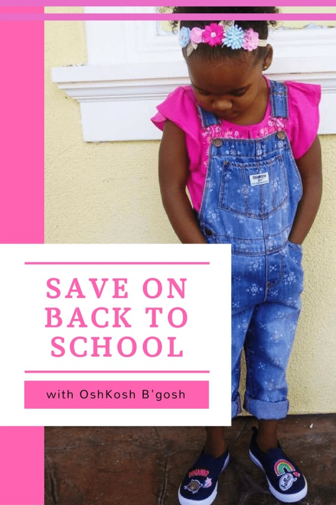Save big this back to school season with cute looks from OshKosh B'gosh. I've got a 20% OFF coupon code for you + you can enter to win a $50 OshKosh B'gosh gift card.