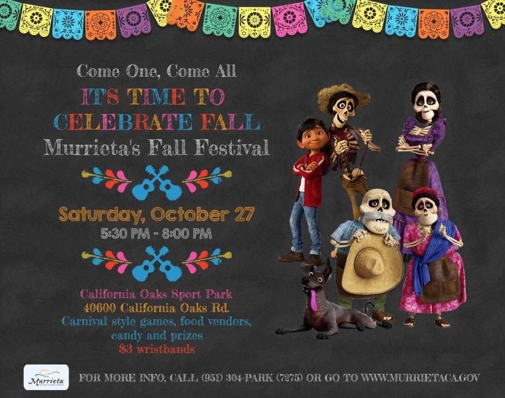 City of Murrieta Fall Festival
