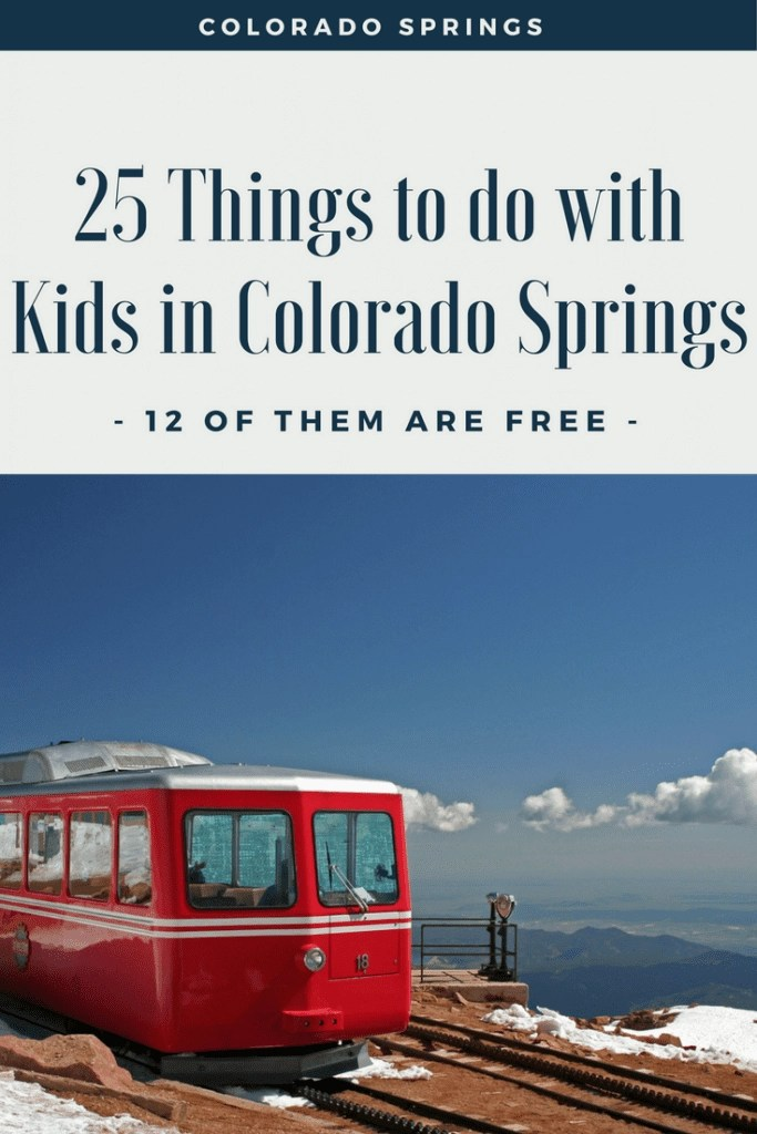 This is a sponsored post by Colorado Springs. Check out these 25 kid friendly things to do in Colorado Springs. The BEST part is 12 of them are completely FREE!!