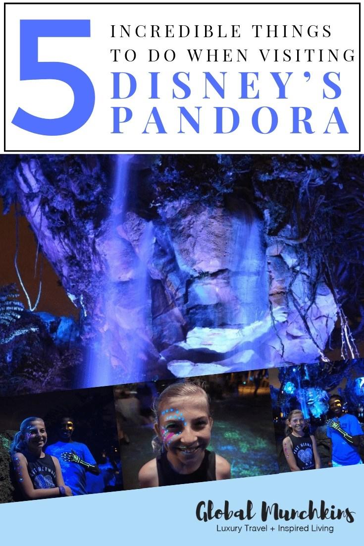 Here are 5 things you should know before visiting Disney's Pandora! Check them out! #disney #disneyspandora #pandora #travel #vacation #vacay