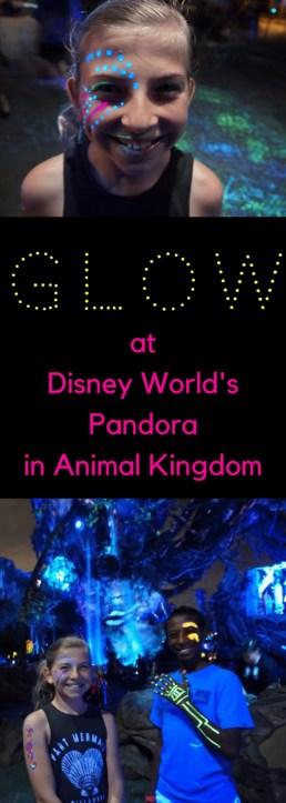 Glow at Disney World's Pandora in Animal Kingdom