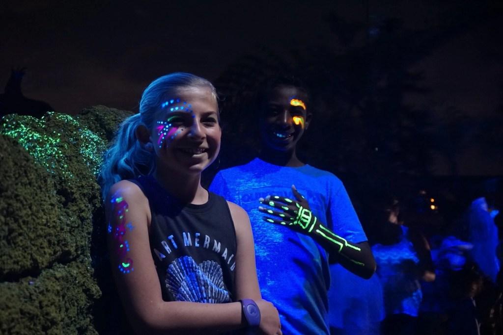 pandora glow in the dark paint