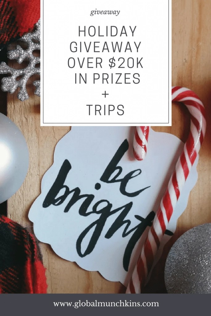 Hoiday Gift Guide + Giveaway Extravaganza- we are giving away over $20,000 in prizes this holiday season. Check out our gift guide for meaningful gifts for everyone on your list and then enter to win some of the gifts for yourself. #giveaway #holidaygiftguide #holidays2017