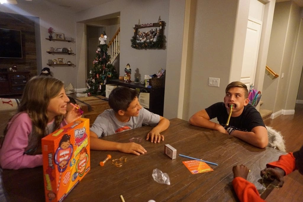 Check out these 5 Hilarious Family Games that you need to own. They make perfect gifts for the holidays and birthdays too. Get your kids off their electronic devices and back to spending quality time together.
