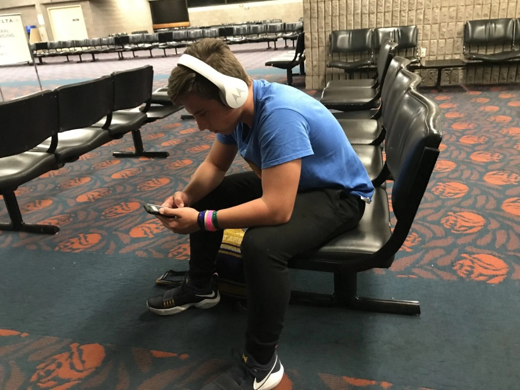 AD- See why Motorola Headphones are our choice headphones for traveling with kids and teens.