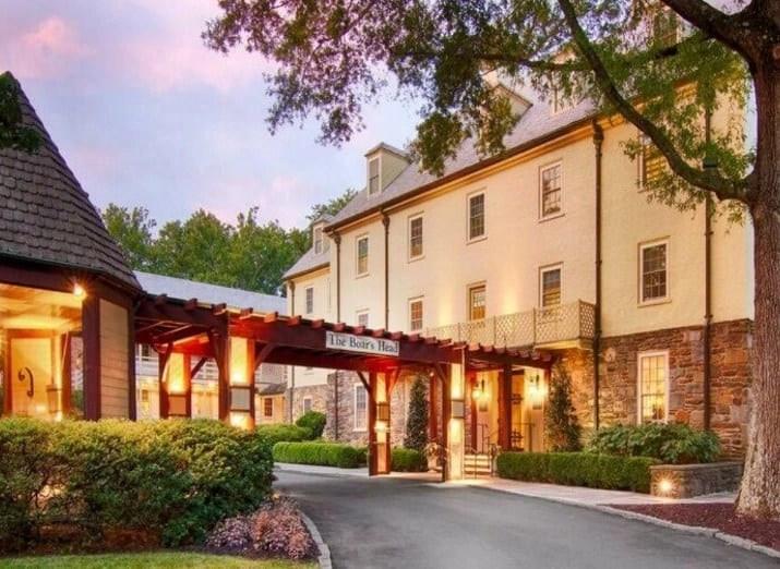 The Best Luxury Resorts- Boar's Head Inn