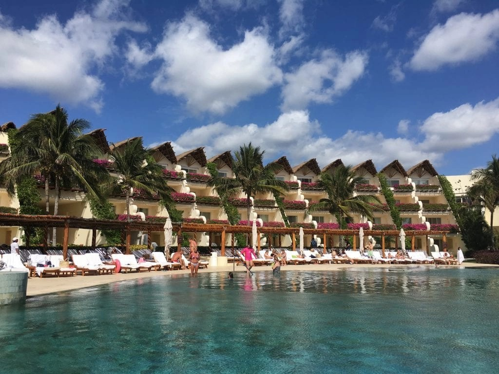 Grand Velas one of the luxury resorts named best for families by travel experts.