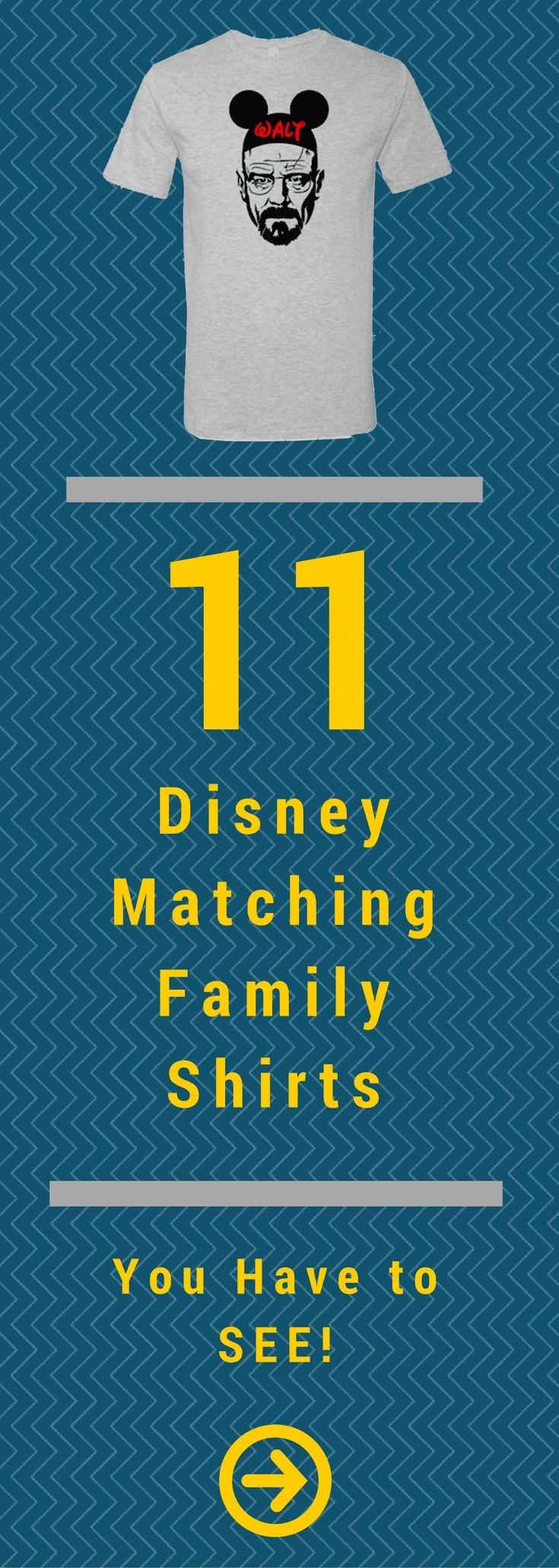 11 Disney Matching Family Shirts You Have to See! #disneyfamily #disney