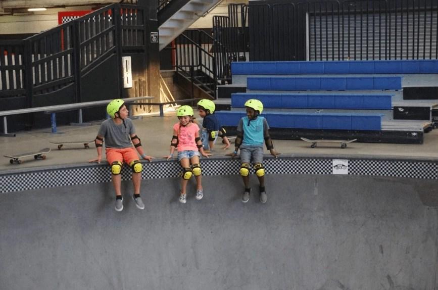 Things to do in Anaheim Com Pool at Vans Skatepark in Orange County   Global Munchkins