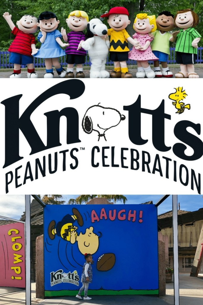 Knott's Berry Farm has a brand new, and super adorable, celebration going on called the PEANUTS Celebration!! Special shows, themed-attractions, a sketch school, and delicious themed treats await you. And, don't forget to snap pics by the super cute comic strips while you are there.