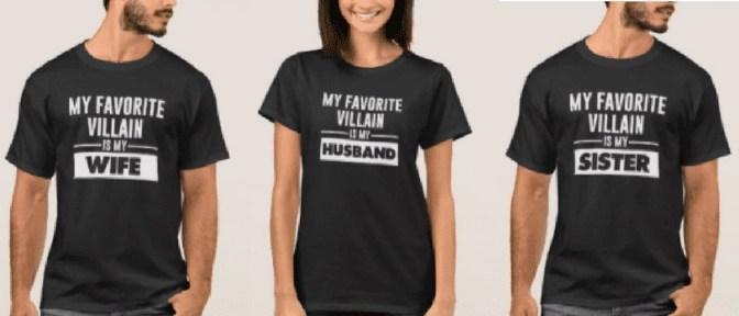villain disney family t shirt