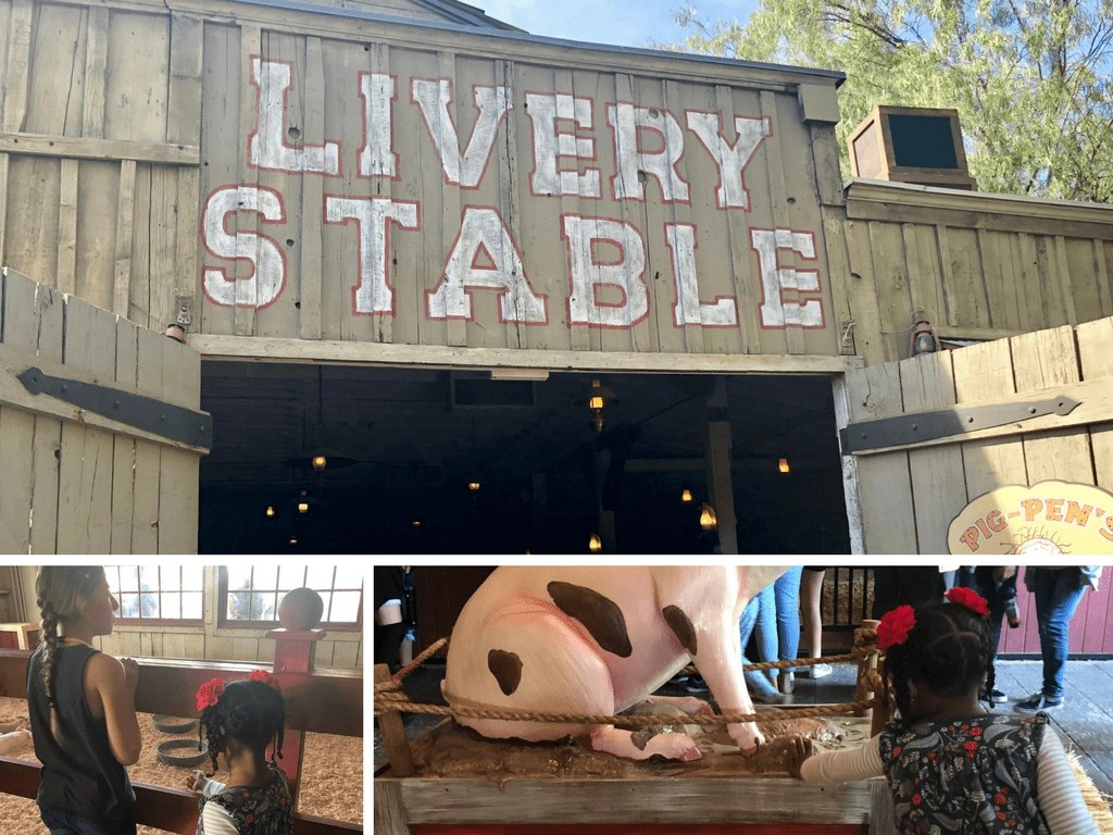 Pig Pen's Livery Stable at Knott's Berry Farm
