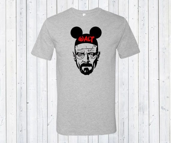 walt heisenberg disney shirt