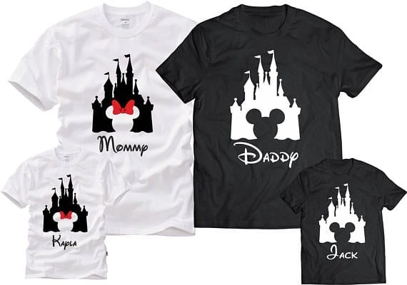 17 awesome disney family shirts for your vacation 3 for Custom t shirt orlando