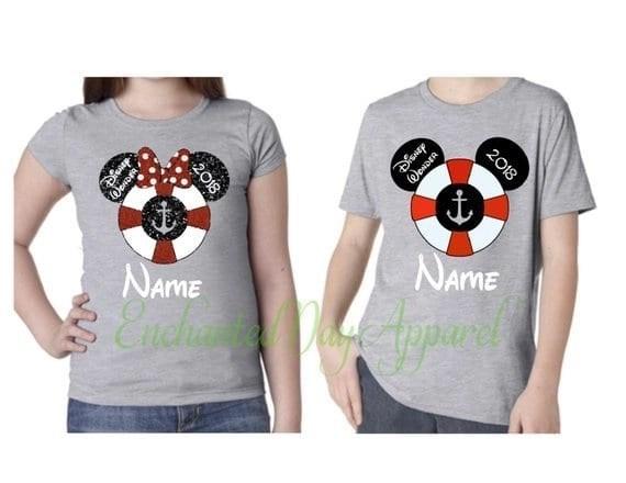 Disney Cruise Family Matching Shirts