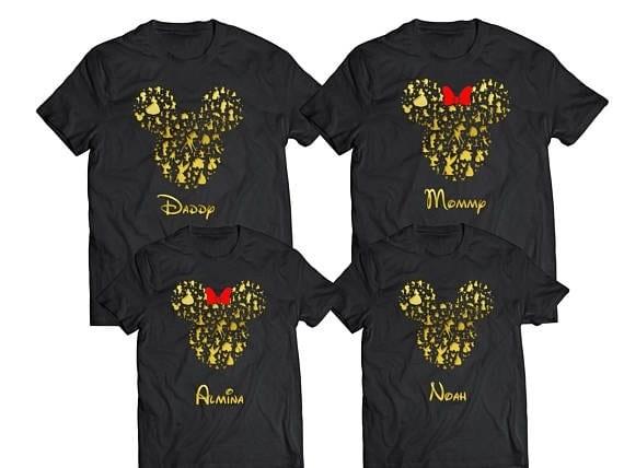 Disney Silhouette - Disney Family Shirts