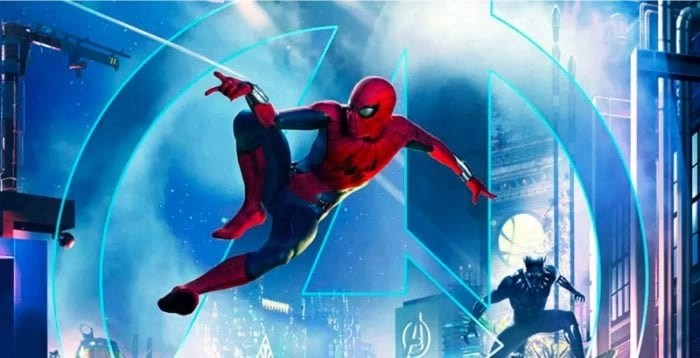 New Disneyland Rides - Spiderman