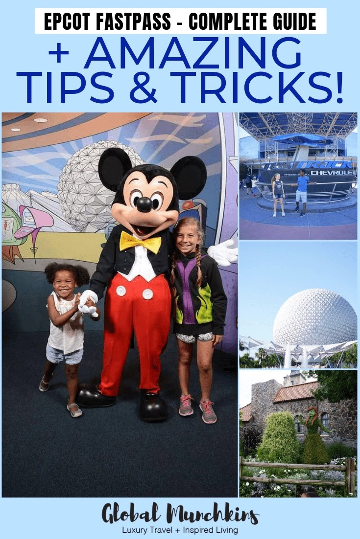 We have compiled a complete Epcot Fastpass breakdown so you can have the most possible fun in the park. We break down which rides accept Fastpass, which ones to book and which ones to skip because there won't be much of a line anyways. So, let's get this party started! #epcot #disney #fastpass #traveltips #vacation #ultimateguide #park