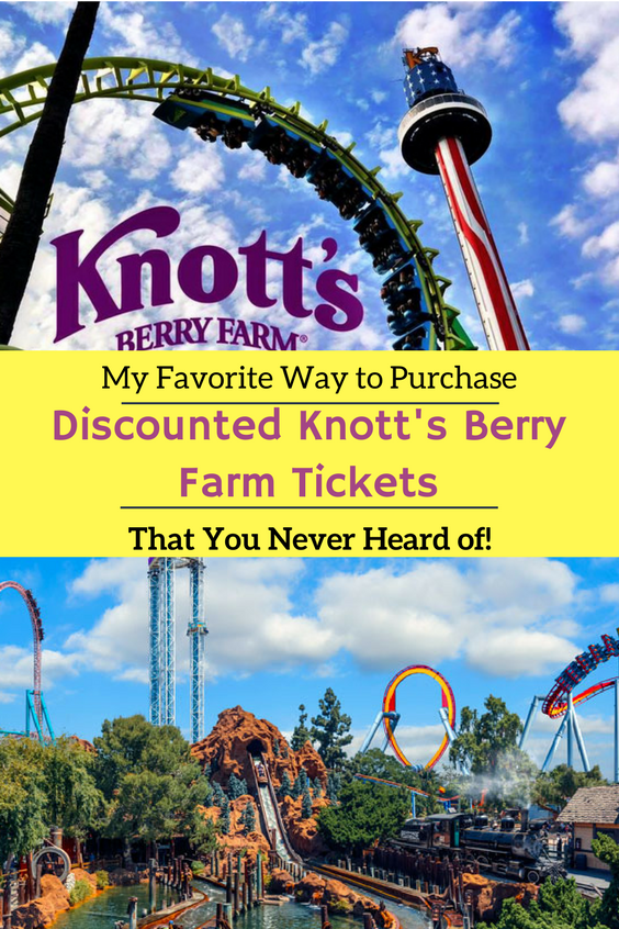 Looking for Discounted Knott's Berry Farm Tickets. Here are 11 Super Easy Ways to Save Money + My Favorite Way which you have never heard of.